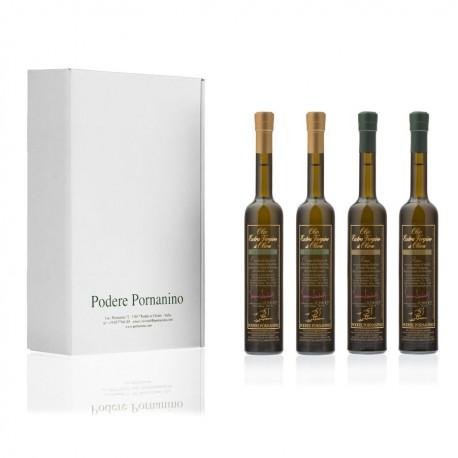 2 x Extra Virgin Olive Oil (small) + 2 x Truffle Flavoured Olive Oil (small)
